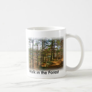 Promenade dans la forêt mug