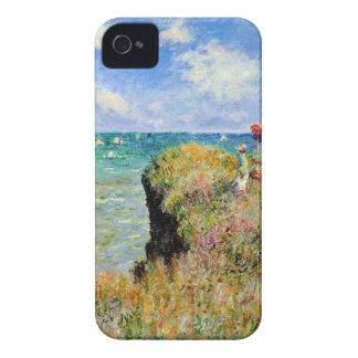 Promenade de Claude Monet Clifftop Étui iPhone 4
