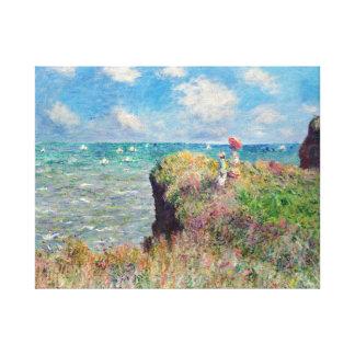 Promenade de falaise de Claude Monet chez Toiles
