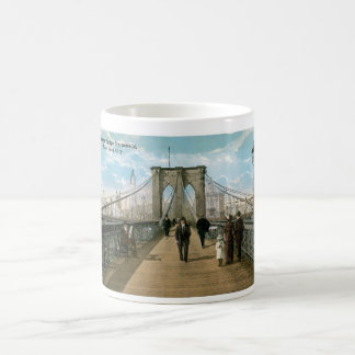 Promenade de pont de Brooklyn, New York City Mug
