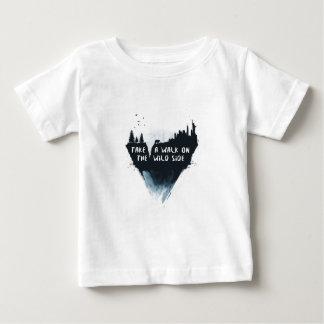 Promenade du côté sauvage t-shirt pour bébé