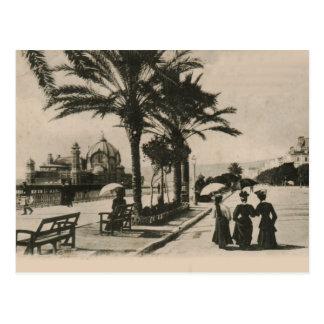 Promenade intéressante par la carte postale 1908