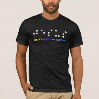 Promenade par la foi pas par le T-shirt de vue