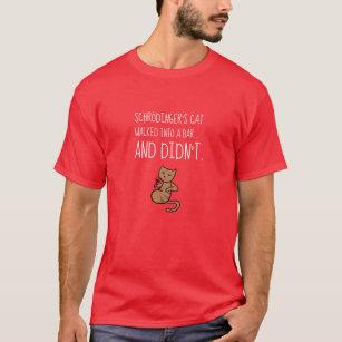 T Shirts Schrodinger Originaux Personnalisables Zazzle Fr
