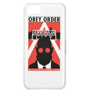 Propagande à C.A. - obéissez l'ordre Coque iPhone 5C