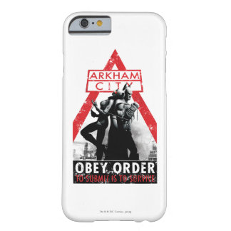 Propagande à C.A. - Obey/To Submit est de survivre Coque Barely There iPhone 6
