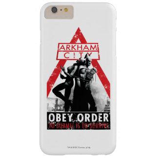 Propagande à C.A. - Obey/To Submit est de survivre Coque iPhone 6 Plus Barely There