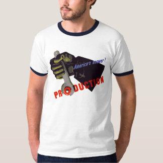 Propagande de production de la réponse de t-shirts