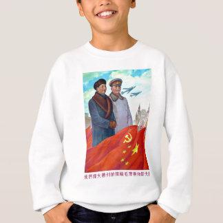 Propagande originale Mao Zedong et Joseph Staline Sweatshirt