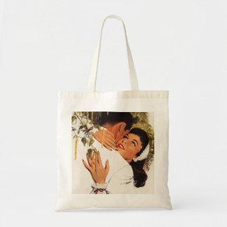 Proposition vintage de mariage, histoires d'amour sac fourre-tout
