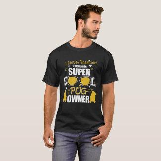 Propriétaire frais de carlin t-shirt
