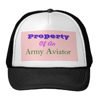Propriété, d', aviateur d'armée casquettes