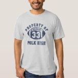 Propriété de Bundy d'Al de tee - shirt du nombre T-shirts