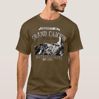 Propriété de canyon grand de t-shirt