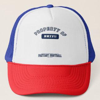 Propriété de casquette du football d'imaginaire