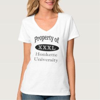 Propriété de Honkette U de ...... T-shirt