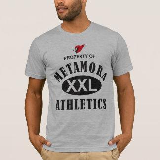 Propriété de l'athlétisme de Metamora T-shirt