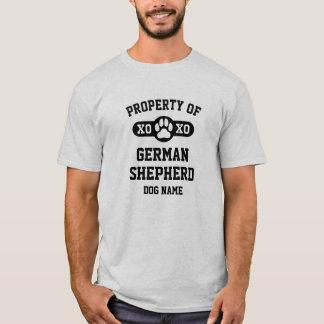 Propriété [de T-shirt de longue race nommée de