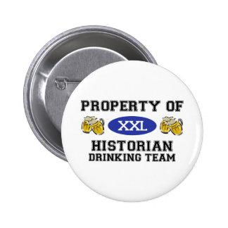 Propriété d'équipe potable d'historien badge