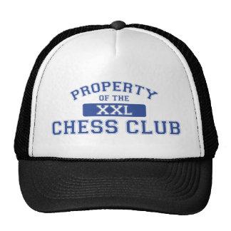 Propriété du club d'échecs XXL Casquettes