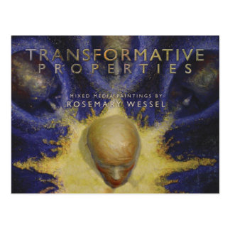 Propriétés transformatives carte postale