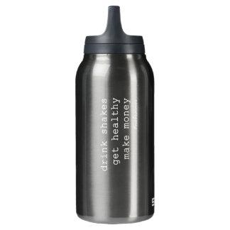 Propulsez la bouteille d'eau froide chaude de