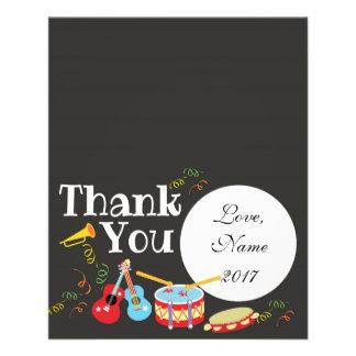 Prospectus 11,4 Cm X 14,2 Cm Carte de remerciements - anniversaire de enfant de
