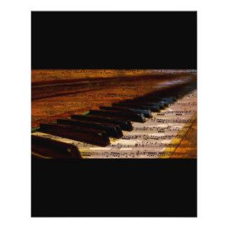 Prospectus 11,4 Cm X 14,2 Cm le PIANO piano-317026 NOTE LE COMPOSITEUR de