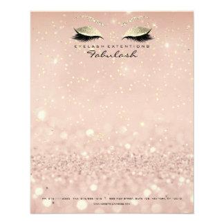 Prospectus 11,4 Cm X 14,2 Cm Le studio de beauté fouette l'or de styliste de