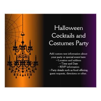 Prospectus 11,4 Cm X 14,2 Cm Lustre orange/noir de Halloween