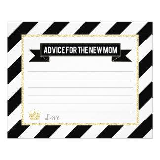 Prospectus 11,4 Cm X 14,2 Cm Prince noir Advice d'or pour la nouvelle maman