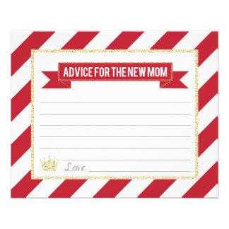Prospectus 11,4 Cm X 14,2 Cm Prince rouge Advice d'or pour la nouvelle maman