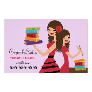 Prospectus 14 Cm X 21,6 Cm 311 filles d'Espagnol de Cutie de petit gâteau