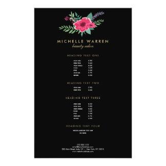 Prospectus 14 Cm X 21,6 Cm Insecte floral rose élégant du salon II