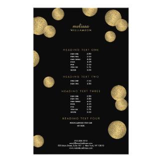 Prospectus 14 Cm X 21,6 Cm Noir et insecte de charme et de beauté II d'or