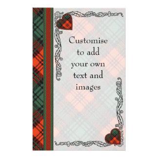 Prospectus 14 Cm X 21,6 Cm Tartan d'écossais de plaid de clan de Kerr