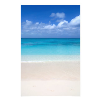 Prospectus 14 Cm X 21,6 Cm Turcs de la plage | et photo sous le vent de la