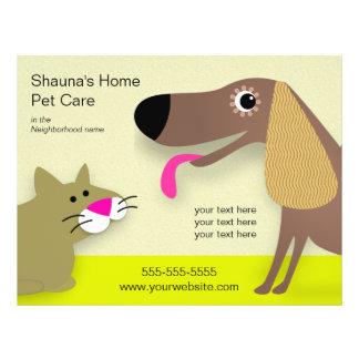 Prospectus 21,6 Cm X 24,94 Cm Affaires de soin de chien