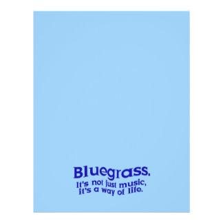 Prospectus 21,6 Cm X 24,94 Cm Bluegrass : Pas simplement musique, un mode de vie