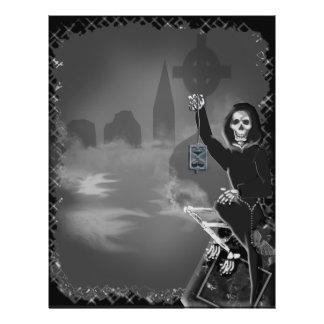 Prospectus 21,6 Cm X 24,94 Cm boneyard Halloween