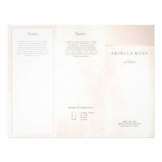 Prospectus 21,6 Cm X 24,94 Cm Brochure de marbre de spa de salon balayée par