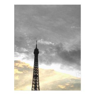 Prospectus 21,6 Cm X 24,94 Cm flyer tour Eiffel or et argent