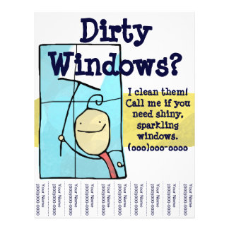 Prospectus 21,6 Cm X 24,94 Cm Insecte de nettoyage de vitres
