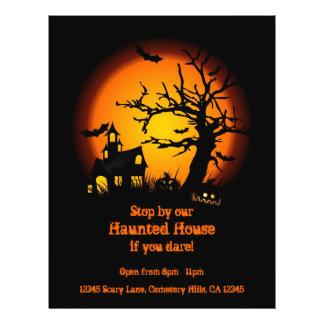 Prospectus 21,6 Cm X 24,94 Cm Insectes hantés de Halloween de Chambre