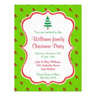 Prospectus 21,6 Cm X 24,94 Cm Invitation de fête de Noël