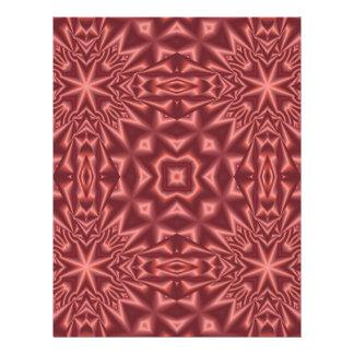 Prospectus 21,6 Cm X 24,94 Cm Motif d'abrégé sur rouge