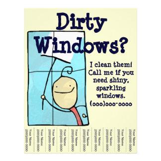 Prospectus 21,6 Cm X 24,94 Cm Nettoyage de vitres