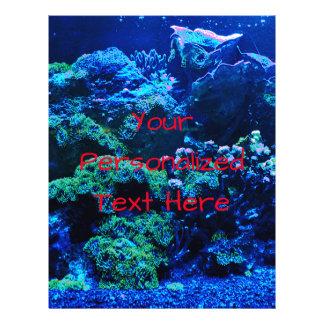 Prospectus 21,6 Cm X 24,94 Cm Récif coralien tropical