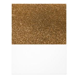 Prospectus 21,6 Cm X 24,94 Cm Scintillement d'or