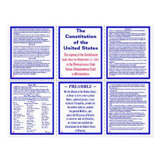Prospectus 21,6 Cm X 24,94 Cm U.S. Brochure/signet de poche de constitution